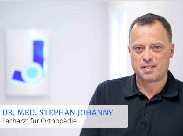 Portrait Dr. Johanny Orthopäde Koblenz
